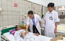 Chế thực quản bằng đại tràng cho bệnh nhân mắc 2 bệnh ung thư đường tiêu hoá
