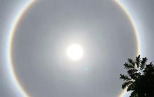 Bà Rịa-Vũng Tàu: Nhiều người thích thú với quầng sáng bao quanh mặt trời