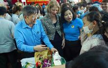 Hà Nội: Khai trương siêu thị 0 đồng phục vụ công nhân