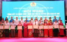 Hà Nội: Biểu dương 100 gia đình CNVC-LĐ tiêu biểu