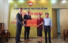 Doanh nghiệp nước ngoài trao 100.000 USD chung tay phòng, chống dịch Covid-19