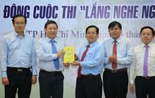 Giải thưởng Cuộc thi Lắng nghe người dân hiến kế lần 2 lên đến 120 triệu đồng
