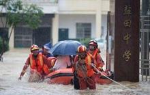 Lũ lụt tiếp tục hoành hành tại Trung Quốc, Nhật Bản