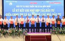 Quảng Bình: Ký cam kết đầu tư hơn 9.000 tỉ đồng vào thị xã Ba Đồn
