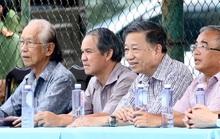 Bộ trưởng Tô Lâm dự khán trận CAND hòa Gia Định FC 1-1