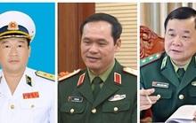 Tư lệnh Hải quân, Tư lệnh Bộ đội Biên phòng làm Thứ trưởng Bộ Quốc phòng