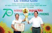 Con trai nhạc sĩ An Thuyên giành giải nhất cuộc thi sáng tác ca khúc về TNXP