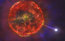 Vật thể lạ, chết một nửa lao nhanh giữa thiên hà chứa Trái Đất