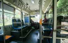 Xe buýt ế khách trong những ngày Hà Nội nắng nóng gay gắt