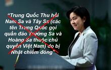 Bà Hoa Xuân Oánh nói bậy về chủ quyền biển Đông