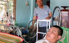Người cha nghèo chế tạo máy trợ thở cứu con