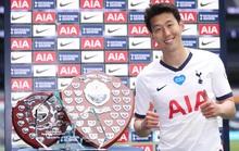 """Ngôi sao Hàn Quốc Son Heung-min """"ẵm"""" trọn giải thưởng của Tottenham."""
