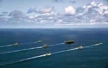 Rời biển Đông, tàu sân bay Mỹ tập trận chớp nhoáng với Ấn Độ