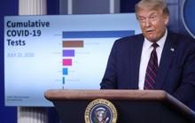 Tổng thống Donald Trump đổi giọng về Covid-19