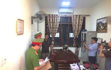 Khám xét khẩn cấp nơi làm việc quyền Trưởng phòng Chính sách thuộc Ban Dân tộc tỉnh Nghệ An