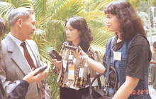 Tôi là phóng viên Người Lao Động