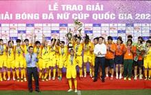 Sở hữu dàn sao tài năng, CLB TP HCM lần đầu đăng quang giải nữ Cúp quốc gia