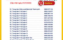 TP HCM phát thông tin mới nhất về những người về từ Đà Nẵng