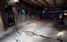 Động đất ở Sơn La làm nhiều nhà dân, trường học, trạm xá bị lún, nứt tường