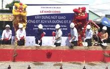 Long An: Khởi công xây dựng nút giao đường ĐT.824 và đường ĐT.823B
