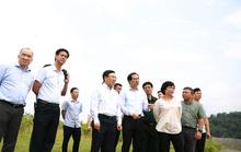 Phó Thủ tướng Phạm Bình Minh thị sát khu vực biên giới tại Lào Cai