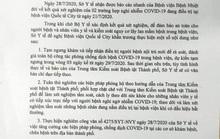 Đường đi của 2 ca mắc Covid-19 từ Đà Nẵng vào TP HCM