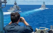 """Mỹ """"bọc lót"""" Nhật trước tàu Trung Quốc ở biển Hoa Đông"""