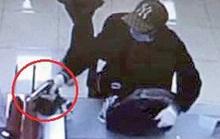 Kẻ trốn truy nã nổ súng uy hiếp để cướp Ngân hàng Techcombank