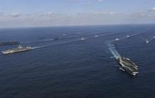 Hải quân Mỹ tập trận ở biển Đông, tàu Trung Quốc theo sát