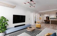 Tạo điểm nhấn cho căn hộ với gam màu xanh và vàng