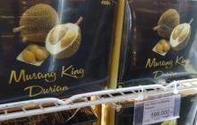 Sầu riêng Malaysia giá tiền triệu vẫn cháy hàng giữa lúc sầu riêng Việt rẻ rề