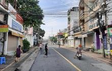 Đồng Nai lấy mẫu xét nghiệm người dân khu vực con đường bị phong tỏa