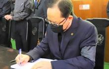 Ghi sổ tang, Bí thư Trịnh Văn Chiến nguyện học tập, noi gương nguyên Tổng Bí thư Lê Khả Phiêu
