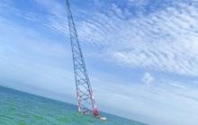 Nghi vấn tàu lớn tông nghiêng trụ điện cao thế vượt biển Tây