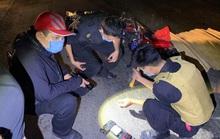 Truy tìm xe container cán chết 2 người rồi bỏ trốn