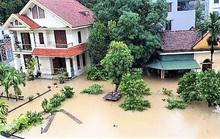 Mưa lớn, nhiều nơi ở Quảng Ninh chìm trong biển nước