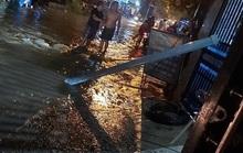 Bình Dương: Té xe xuống đường, một người tử vong nghi do bị điện giật