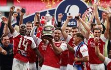 Người hùng Aubameyang rực sáng, Arsenal lên ngôi vô địch FA Cup