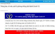 Đắk Lắk ra thông báo Khẩn tìm hành khách trên chuyến bay từ Đà Nẵng về Buôn Ma Thuột
