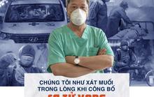 """Thứ trưởng Bộ Y tế Nguyễn Trường Sơn: """"Chúng tôi như xát muối trong lòng khi công bố ca tử vong"""""""