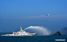 Trung Quốc: Tàu dầu đụng tàu hàng ở cửa sông Dương Tử, 8 người chết