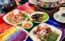 Lẩu cầu vồng và loạt món rực rỡ hút giới trẻ tại TP HCM