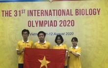 Nam sinh Huế giành huy chương vàng Olympic sinh học quốc tế