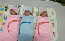 Ca sinh 3 hiếm gặp, 2 gái, 1 trai