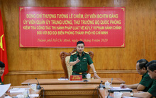 Bộ Quốc phòng kiểm tra công tác ở Bộ đội Biên phòng TP HCM