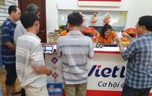 Vietlott tạm ngừng bán vé số do sự cố đường truyền