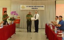 Phú Mỹ Hưng nhận giấy khen từ Công an Thành phố Hồ Chí Minh