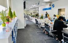 Một phòng giao dịch của Eximbank phải tạm đóng cửa vì khách hàng mắc Covid-19