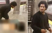 Mỹ: Ngang nhiên đẩy ngã phụ nữ đang chờ tàu để cưỡng hiếp