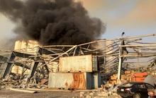 Tổng thống Trump phát biểu ngược dòng vụ nổ cực lớn ở Lebanon